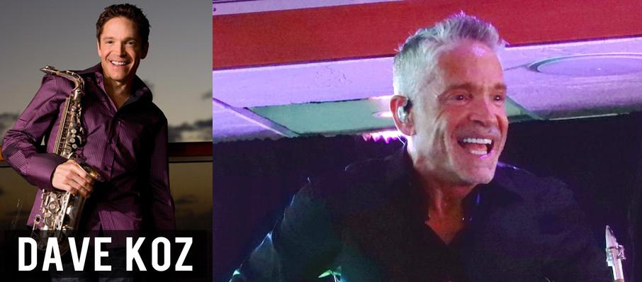 Dave Koz at Mccallum Theatre