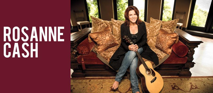 Rosanne Cash at Mccallum Theatre