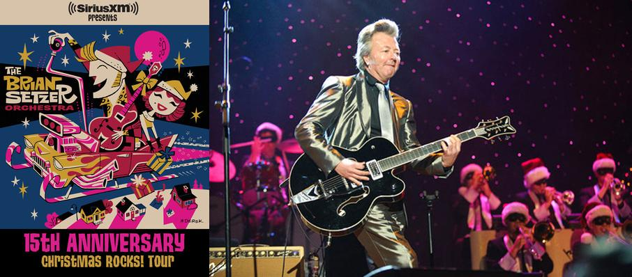 Brian Setzer Orchestra: Christmas Rocks at Mccallum Theatre