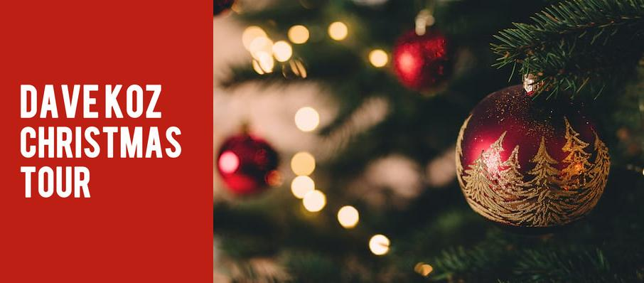 Dave Koz Christmas Tour at Mccallum Theatre