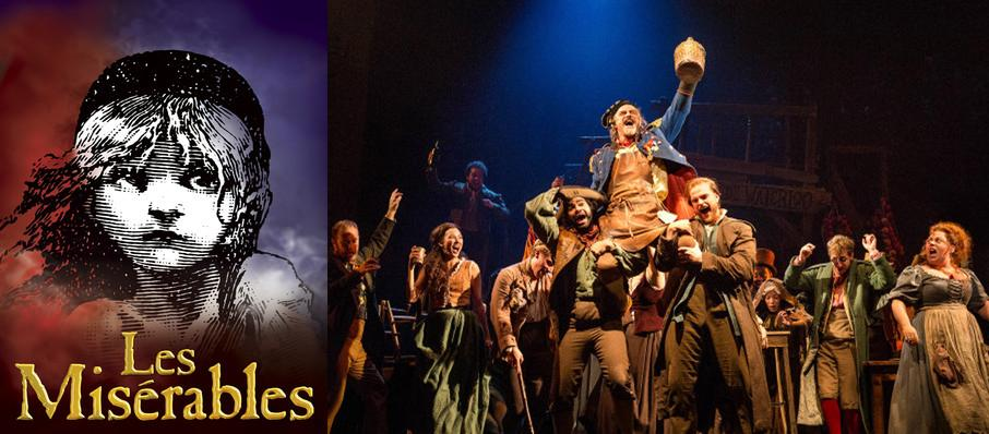 Les Miserables at Mccallum Theatre