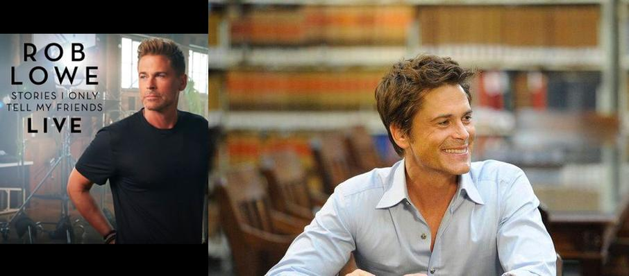 Rob Lowe at Mccallum Theatre