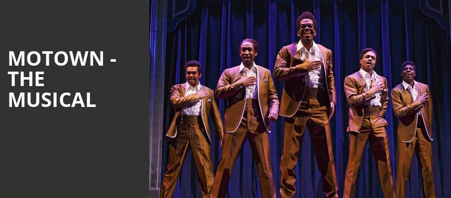 Motown The Musical, Mccallum Theatre, Palm Desert